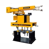 braço robótico de indústria