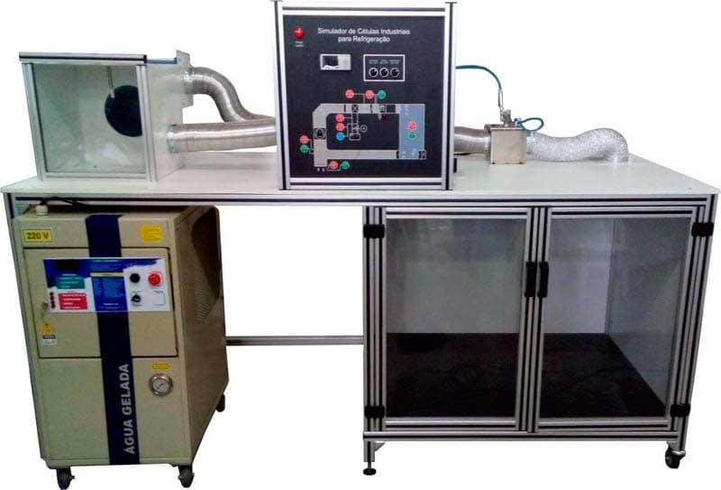 Painel Simulador de Células Industriais para Refrigeração