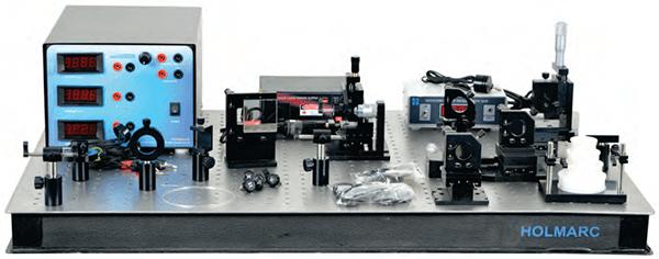 Laboratório de Óptica a Laser