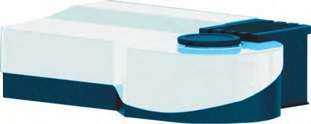 Espectrofotômetro com unidade de medição ângular